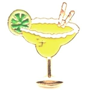 Jewelry - Margarita Pin - Perfect for Happy Hour!